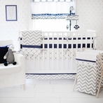 Out of the Blue Crib Bedding Set