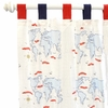Out to Sea in Blue Curtain Panels - Set of 2