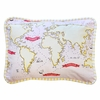Out to Sea in Pink Throw Pillow
