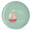Out To Sea Personalized Kids Plate