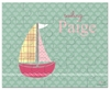Out To Sea Personalized Kids Puzzle
