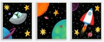 On Sale Outer Space Wall Plaque Set