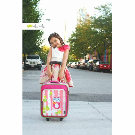 Owl Adventure Happens Rolling Suitcase
