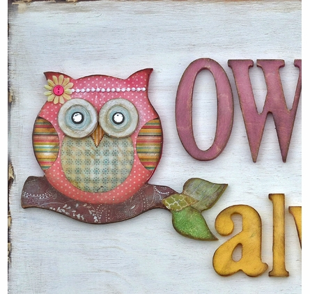 Owl Always Love Canvas Wall Art