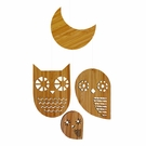 Owl Bamboo Mobile