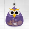 3 Sprouts Owl Bath Storage Hanger