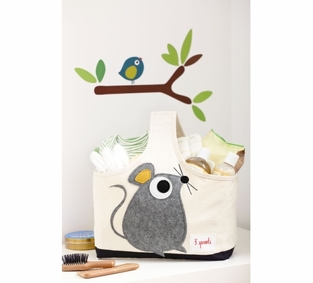 Owl Canvas Storage Caddy