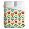 Owl Fun Luxe Duvet Cover