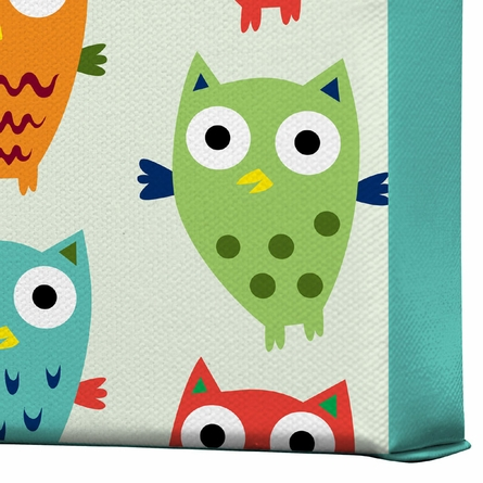 Owl Fun Wrapped Canvas Art