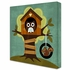 Owl In Treehouse Canvas Reproduction
