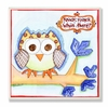 Owl Knock Knock Wall Plaque