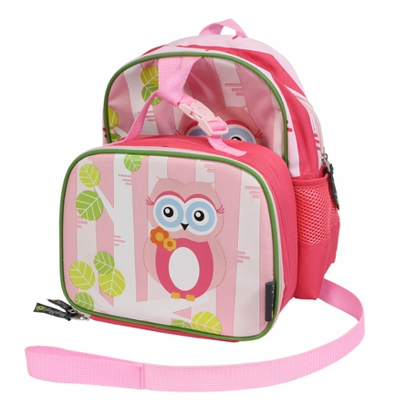 Owl Lunch Happens Kids Insulated Lunch Bag