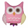 Owl Pink Character Pillow