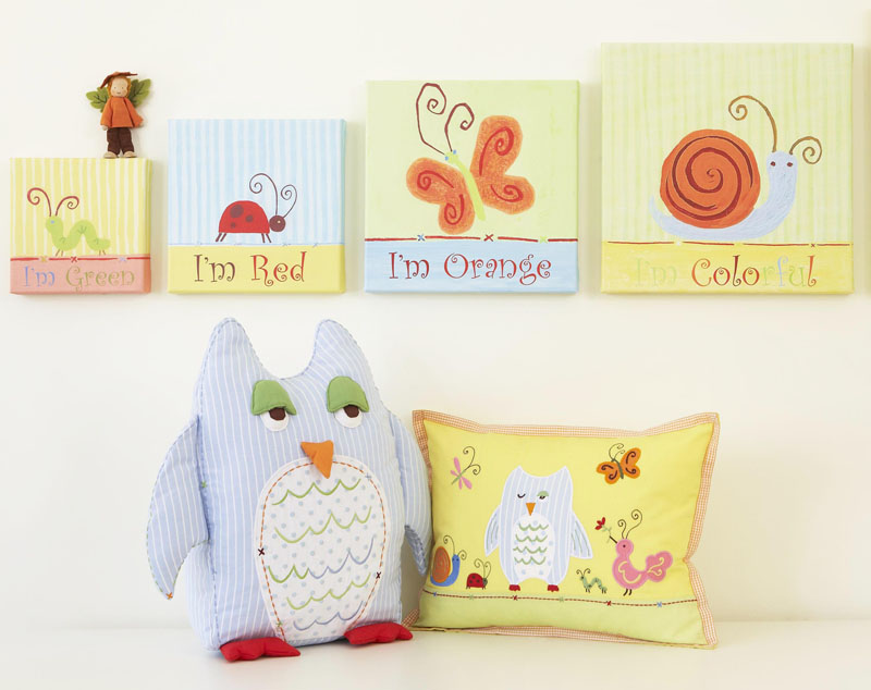 Owl Shaped Pillow By The Little Acorn Rosenberryrooms Com