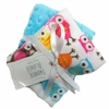 Owls Burp Cloth Set