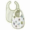 Owls Muslin Bib Set of 2