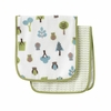 Owls Muslin Burp Cloth Set of 2