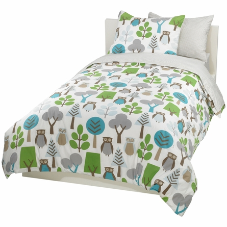 Owls Sky Duvet Bedding Set