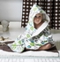 Owls Sky Hooded Towel