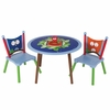 Owls Table With Two Chairs Set
