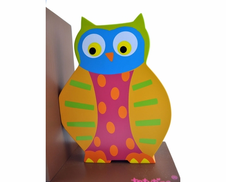Owls Wooden Bookends
