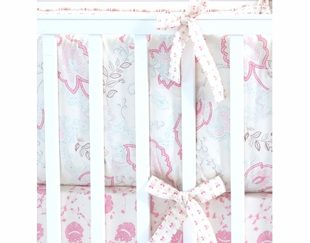 Oyster Camille Crib Bedding - 3 Piece Set