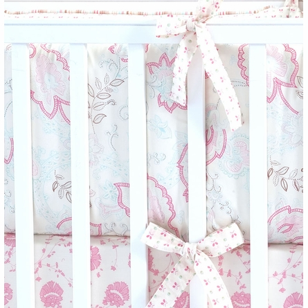 Oyster Camille Crib Bedding Set