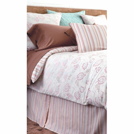 Oyster Camille Reversible Duvet Cover