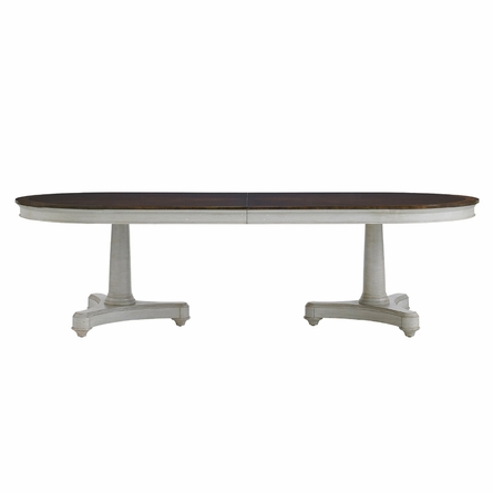 Oyster Point Double Pedestal Dining Table