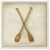Paddles Framed Wall Art