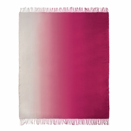 Padua Magenta Throw Blanket