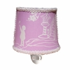 Pagoda Lavender Round Nightlight