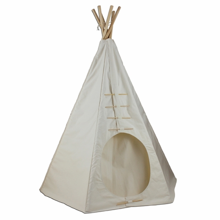 Paintable Round Door Powwow Teepee