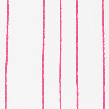 Painted Stripe Twin Sheet in Pink