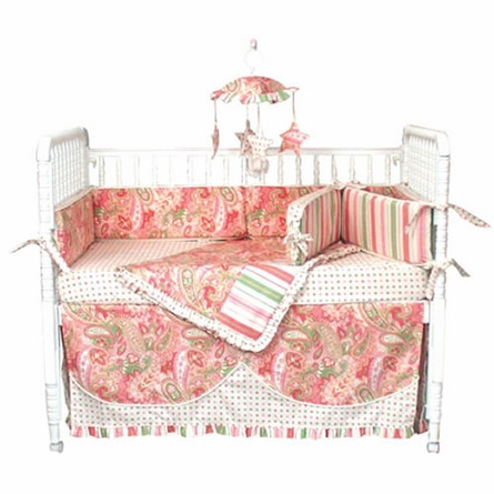 Paisley Crib Bedding