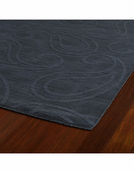 Paisley Imprints Classic Rug in Charcoal