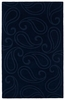 Paisley Imprints Classic Rug in Navy