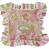Paisley Throw Pillow - Square
