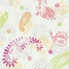 Paisley White Wallpaper
