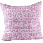 Palace Violet Quilted Pillow Sham