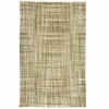 Panama Jute Olive and Natural Rug
