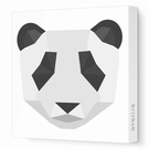 Panda Face Canvas Wall Art