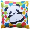Panda Party Throw Pillow