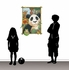 Panda Window Peel and Stick Wall Mural - Small
