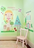 Paper Doll Goldi Peel & Place Wall Stickers