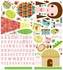 Paper Doll Jilly Peel & Place Wall Stickers