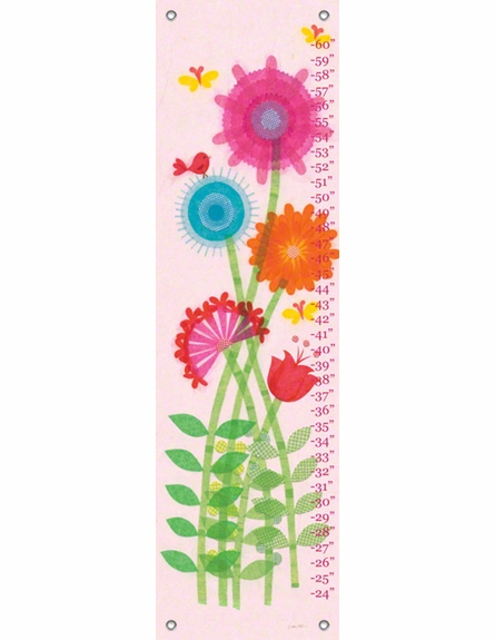 Paper Flower Garden Growth Chart