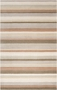 Parchment Striped Madison Square Rug