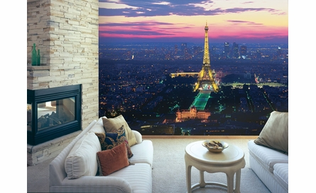 Paris Lights Wall Mural