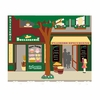 Paris Pastry & Grocery Store Paint by Number Wall Mural